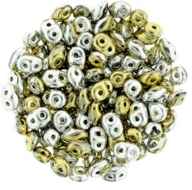 Superduo Bead California Silver (10 g.)