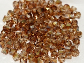 Preciosa Bicone 3 mm Crystal Celsian (per 50)
