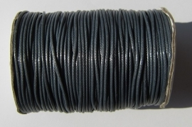 Waxed Cord 1,5 mm Navy Blue W084 (1 meter)