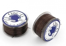 Toho One-G Thread Brown (45 meter)