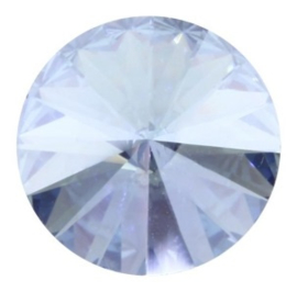 Swarovski Rivoli 12 mm Light Sapphire Moonlight (per stuk)