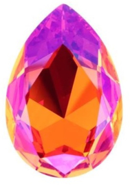 Swarovski Druppel 4327 30 x 20 mm Crystal Astral Pink (per stuk)