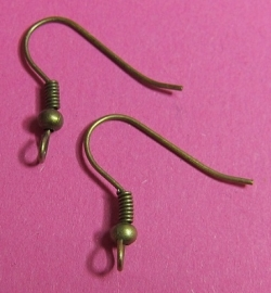 Earring Hooks H349 K (per 6)