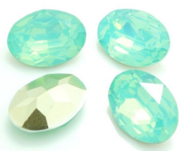 Resin Oval 10 x 14 mm Pacific Opal (per 3)