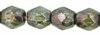 Fire Polished 3 mm Luster - Transparent Green (per 75)