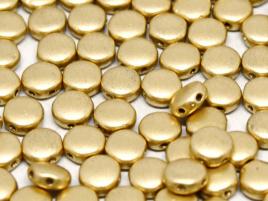 DiscDuo Beads 6 x 4 mm Aztec Gold (per 25)