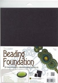 Beading Foundation Black (per A4 vel)