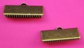 Ribbon Crimp End 20 mm H288 K (per 8)