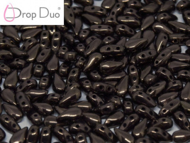 DropDuo 3 x 6 mm Jet Bronze (per 50)