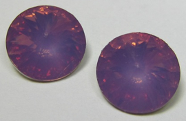 Resin Rivoli 10 mm Lilac Opal (per 4)