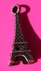 Charm Eiffel Tower B1230 K (per 5)