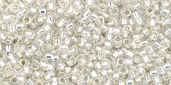 TR-15-2100 Silver-Lined Milky White (5 g.)