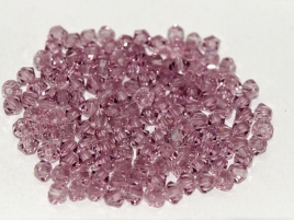 Preciosa Bicone 3 mm Light Amethyst (per 50)