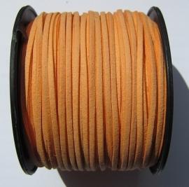 Suede Imitation 3 mm Light Orange SU006 (1 meter)