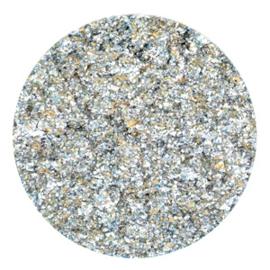 Polaris Cabochon Coin Flat 35 mm Goldstein Deep Teal Blue (per 1)