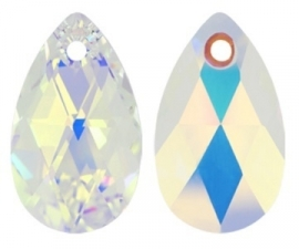 Swarovski Drop 6106 28 mm Crystal AB (per 1)