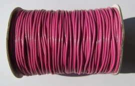 Waxed Cord 1,5 mm Hot Pink W094 (1 meter)