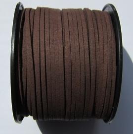 Suede Imitation 3 mm Chocolate SU009 (1 meter)