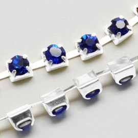 Cup Chain SS8 2,5 mm Royal Blue (meter)