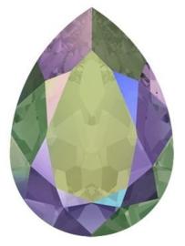 Swarovski Drop 4320 14 x 10 mm Crystal Paradise Shine (per 1)