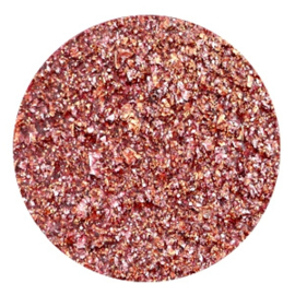 Polaris Cabochon Coin Flat 35 mm Goldstein Aubergine Red (per 1)