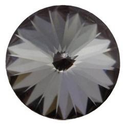 Swarovski Rivoli 18 mm Crystal Silver Night (per 1)