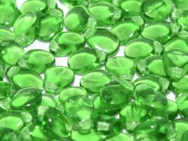 Pip Beads 5 x 7 mm Grass Green (per 18)