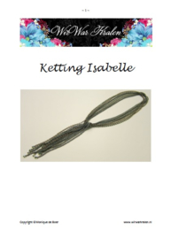 Pattern Necklace Isabelle (PDF-File)