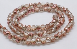 Faceted Rondelles 2 x 3 mm Apollo Gold F802 (per 148 beads)