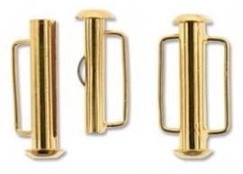 Slide Lock Clasp 21,5 mm S724 G (per 1)