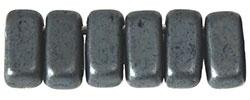 CzechMates Bricks Matte - Hematite (per 34)