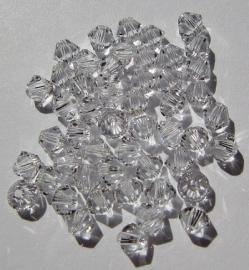 Swarovski Bicone 3 mm Crystal (per 50)