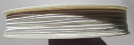 Soutache 3 mm *1101 White (per meter)