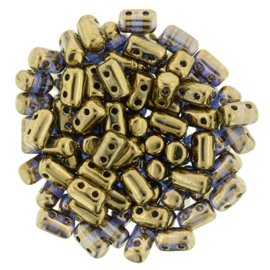 Rulla Beads Bronze - Crystal (10 g.)