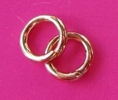 Ring Enkel 4 mm H353 R (per 5 gram)