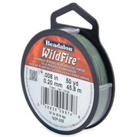 "Beadalon Wildfire Green (0.006"") 0,15 mm (per rol van 45 meter)"