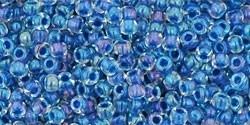 TR-11-189 Inside-Color Luster Crystal/Caribean Blue Lined (10 g.)