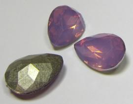 Resin Drop 13 x 18 mm Lilac Opal (per 1)