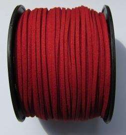 Suede Imitation 3 mm Dark Red SU023 (1 meter)