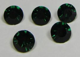 Glass Chaton SS39 Emerald (per 5)
