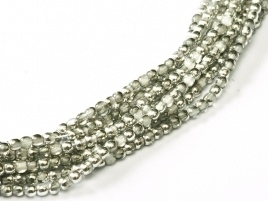 Druk Beads Crystal Labrador 2 mm (30 cm strand)