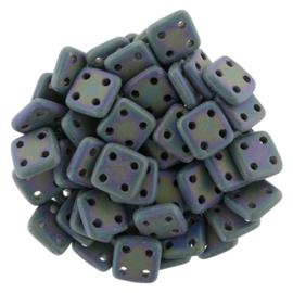 CzechMates QuadraTiles Matte Iris Purple (per 5 gram)