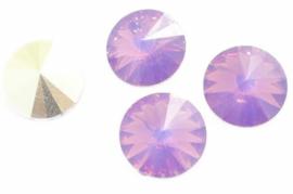 Resin Rivoli 10 mm Cyclamen Opal (per 4)