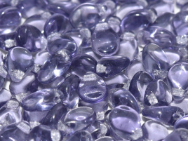 Pip Beads 5 x 7 mm Light Violet (per 18)