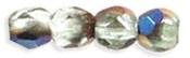 Facet 3 mm Blue Iris - Peridot (per 75)