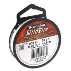 "Beadalon Wildfire Black (0.008"") 0,20 mm (per rol van 45 meter)"