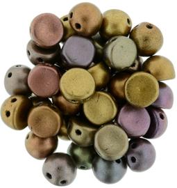 CzechMates Cabochon Matte - Metallic Bronze Iris (per 5 gram)