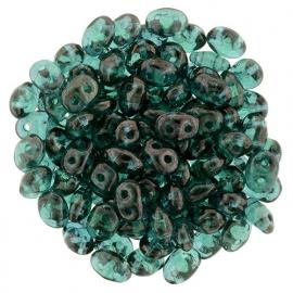 Superduo Bead Emerald - Vega (10 g.)