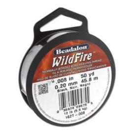 """Beadalon Wildfire Frost (0.008"""") 0,20 mm (per rol van 45 meter)"""