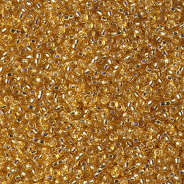 15-0004 Silverlined Dark Gold (per 5 gram)